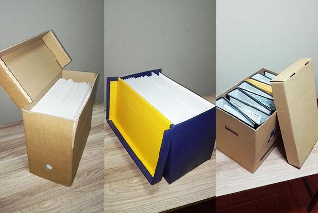 Ventas de Cajas y Útiles para Archivos